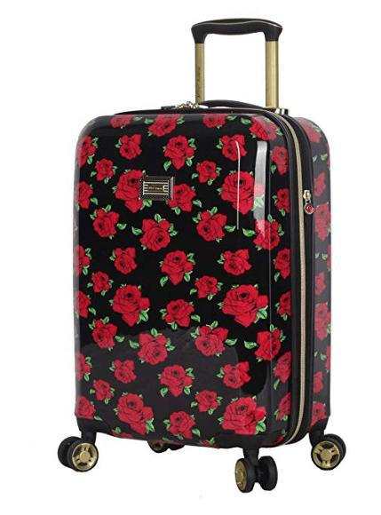 Betsey Johnson Luggage Hardside 20 inch