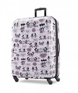 American Tourister Kids' Disney Mickey and Minnie Romance Spinner