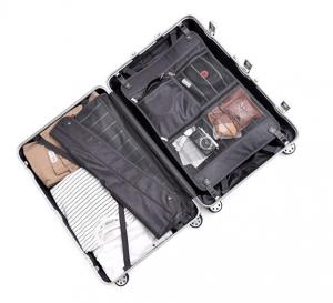 Clothink Aluminum Frame Durable PC Hardshell Carry On