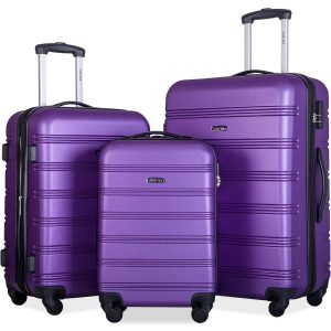 Merax Mellowdy 3 Piece Set Spinner Luggage