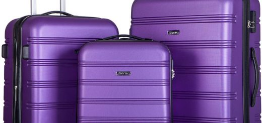 Merax Mellowdy 3 Piece Set Spinner Luggage