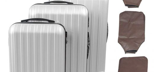 Apelila 3-Piece Hardshell Travel Luggage Set