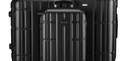 SHOWKOO Expandable Luggage Set