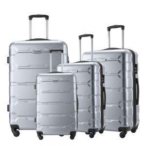 Seanshow Familly Luggage Set 4 PCS Lightweight Spinner