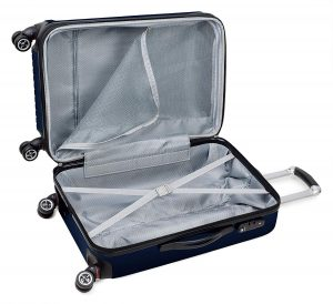 TravelCross Berkeley Classic Luggage Lightweight Interior