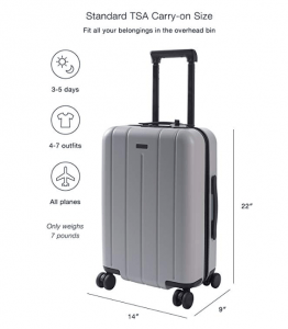 CHESTER 22-inch Carry-On Luggage