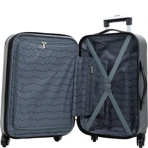 Travelers Club Luggage Chicago Plus Luggage Set