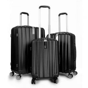Deco Gear - Travel Elite Series - 3 Piece Hardside Spinner Luggage Set