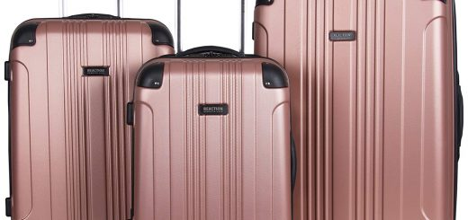 Kenneth Cole Reaction Out Of Bounds 4-Wheel Hardside 3-Piece Luggage Set