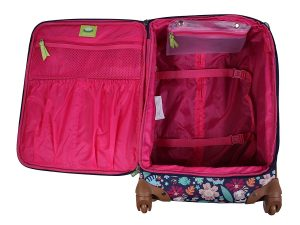 Lily Bloom Luggage Set 4 Piece Suitcase Collection