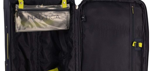Nautica Open Seas 5 Piece Luggage-Set