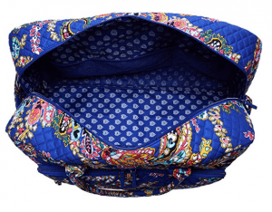 Vera Bradley Iconic Grand Weekender Travel Bag,