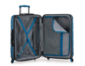 U.S. Traveler Gilmore 3-Piece Suitcase Set