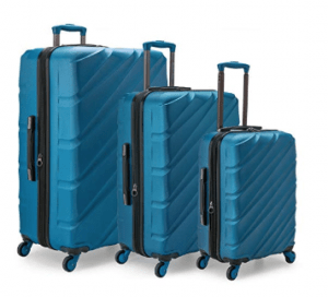 U.S. Traveler Gilmore 3-Piece Luggage Set