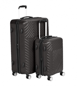 AmazonBasics Geometric Expandable Spinner Luggage