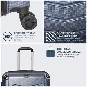 Villagio CT7500 Hardside Luggage Spinner Wheels