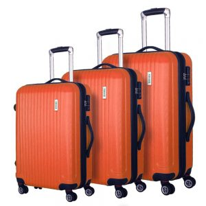 Coomee Luggage 3 Piece set, Expandable Suitcase