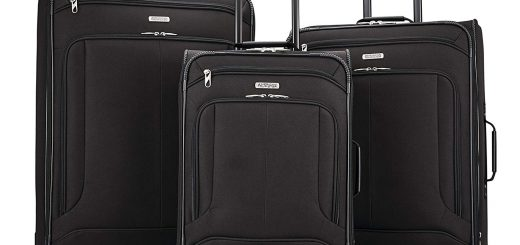 American Tourister Pop Max 3-Piece Softside (SP21:25:29) Luggage Set