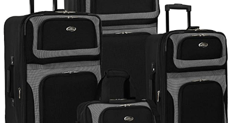 U.S. Traveler New Yorker 4-Piece Luggage