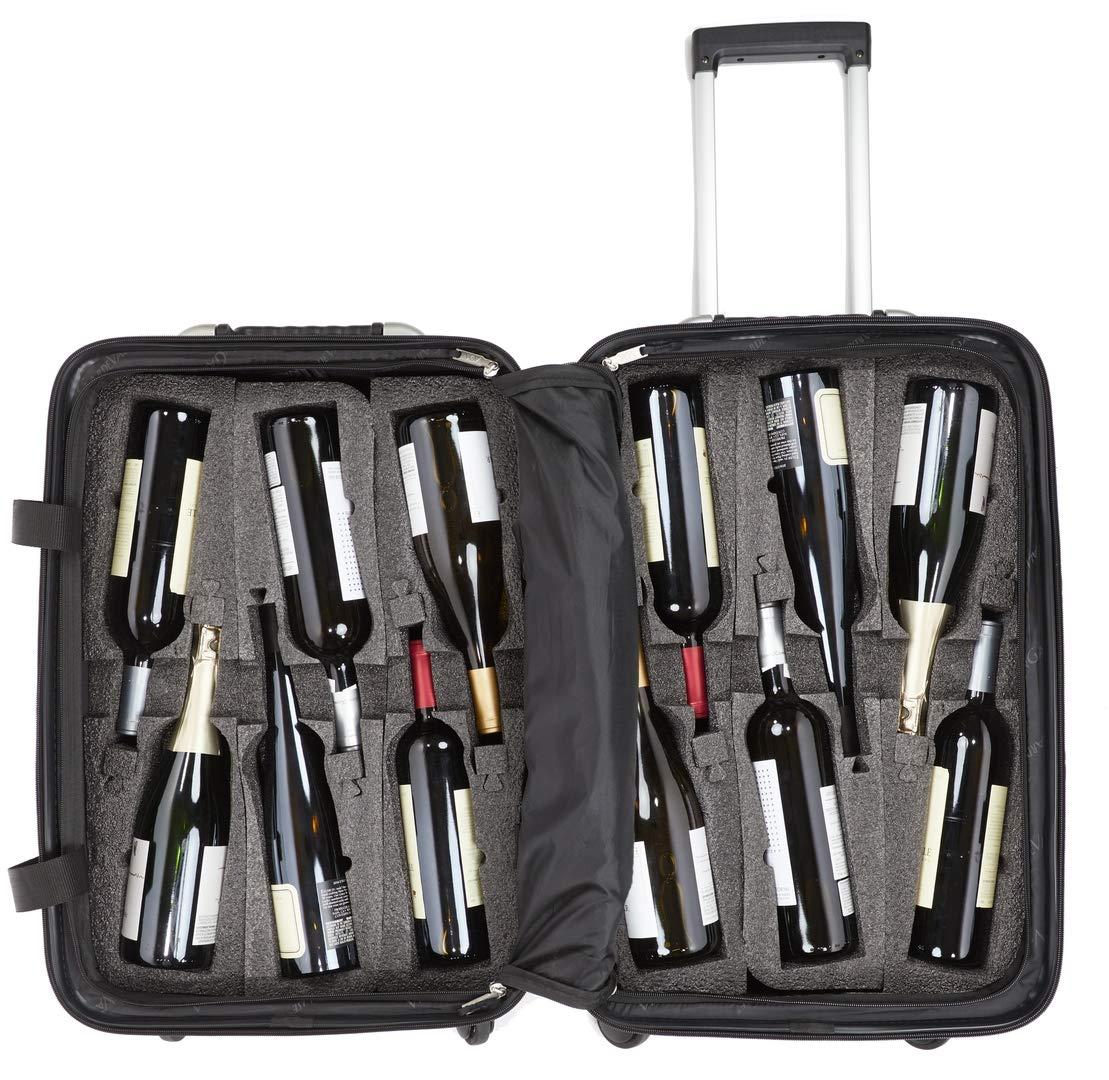 VinGardeValise Wine Travel Suitcase VGV05 Personalized Luggage
