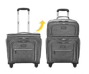 Biaggi Luggage Lift Off Expandable Under-Seater to Carry-on Bag