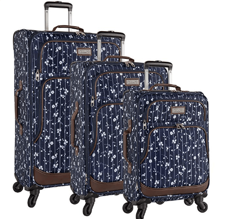Chaps 3 Piece Spinner Luggage Set