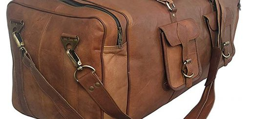 Cuero 30-inch Real Goat Vintage Handmade Bag