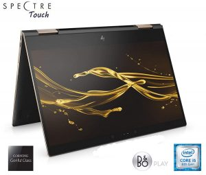 HP Spectre Touch x360 13t-ae00 Ash-Gold Convertible