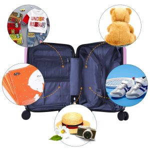 iPlay, iLearn Unicorn Kid Suitcase Backpack Set