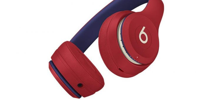 Red Beats Solo3 Wireless On-Ear Headphones