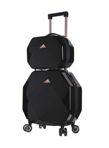 Kensie 3D Gemstone KN-47202 two-piece luggage
