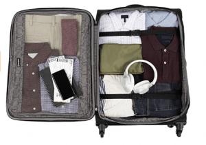 Black Travelpro TourGo Luggage Set
