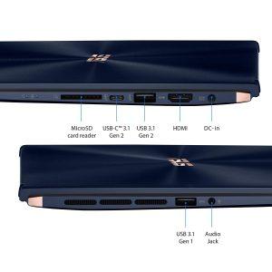 Asus ZenBook UX534FT-DB77 ultra slim connectivity