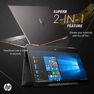 HP X360 2019 Gemcut Laptop i7 2-in-1