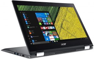 Acer Spin 5 SP513-52N Touch 2-1 Laptop