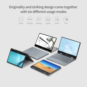 BMAX MaxBook Y11 Convertible Laptop tent stand tablet