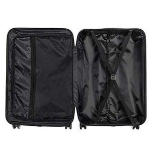 Eubell 3 Piece Set Hardshell ABS Luggage Interior