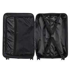 Eubell 3 Piece Set Hardshell ABS Luggage Interior