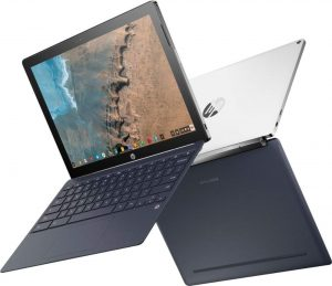 HP X2 2-in-1 Chromebook Detachable 12.3 2K Touch-Screen