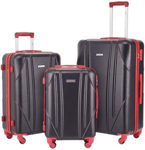 Newtour 3 Piece Luggage Set