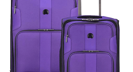 DELSEY Paris Sky Max Softside Luggage Purple