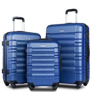 Mooseng Suitcase Luggage Sets 3 Pcs