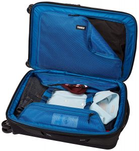 Thule Crossover 2 Carry On Spinner Luggage Interior