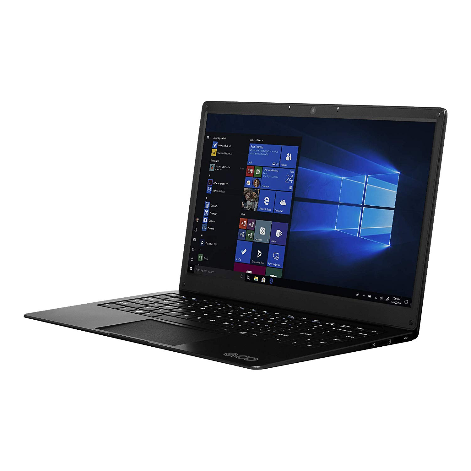"EVOO 14.1"" Ultra Thin Laptop FHD 32GB 4GB"