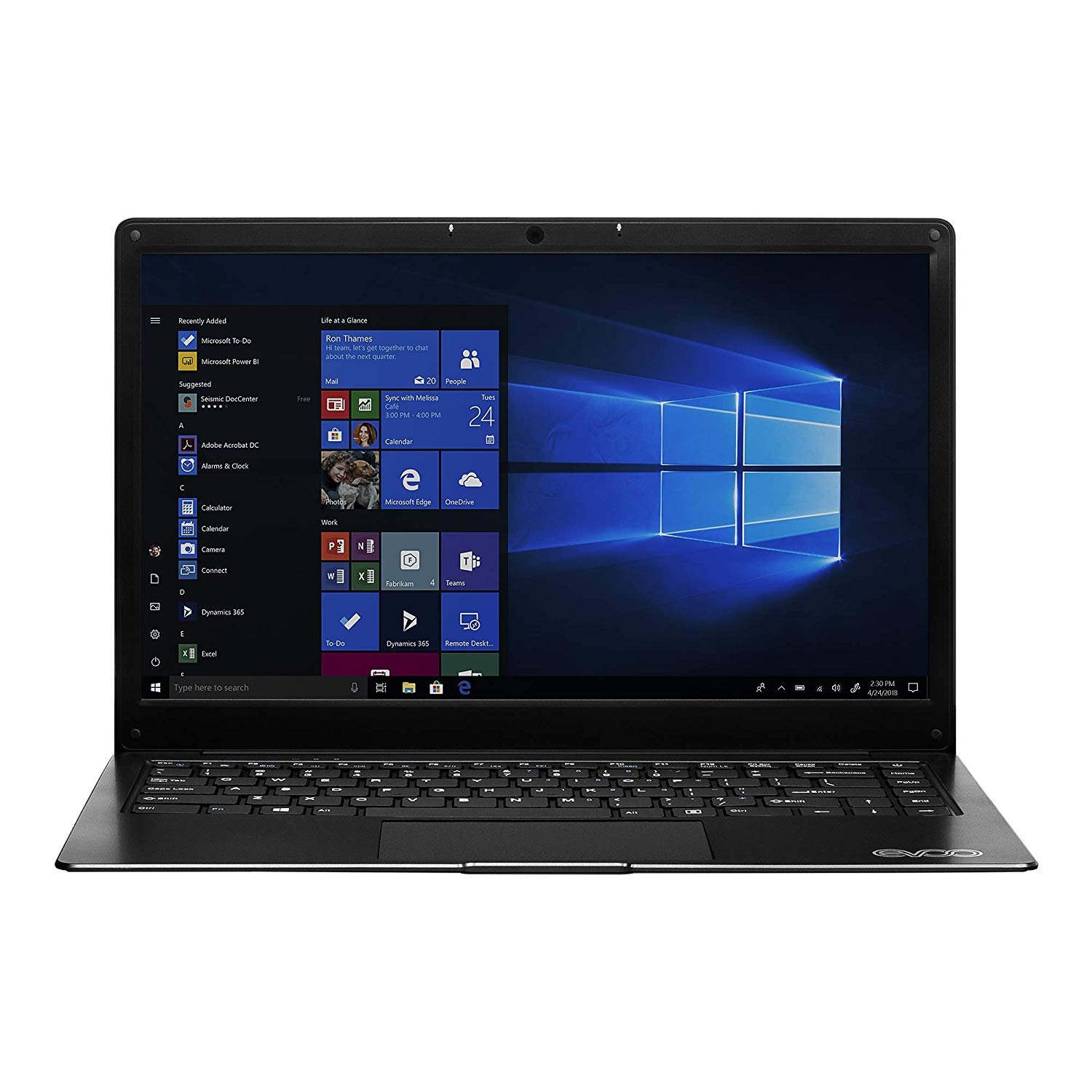 "EVOO 14.1"" Ultra Thin Laptop FHD"