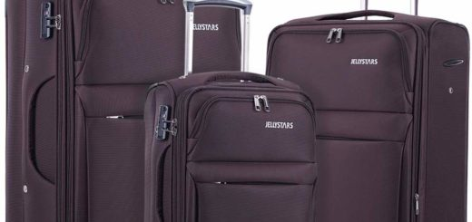 JELLYSTARS 3-Piece Travel Luggage Set