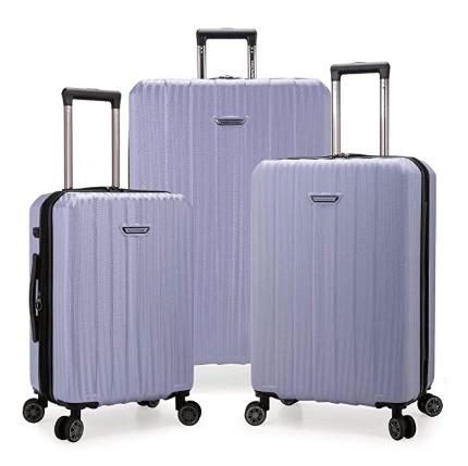 Traveler's Choice Dana Point Expandable Hardshell Luggage Set with USB Port