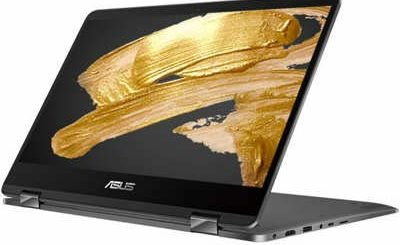 2020 Asus Zenbook Flip 14 FHD (1920x1080) Touch 2-in-1 Business Laptop