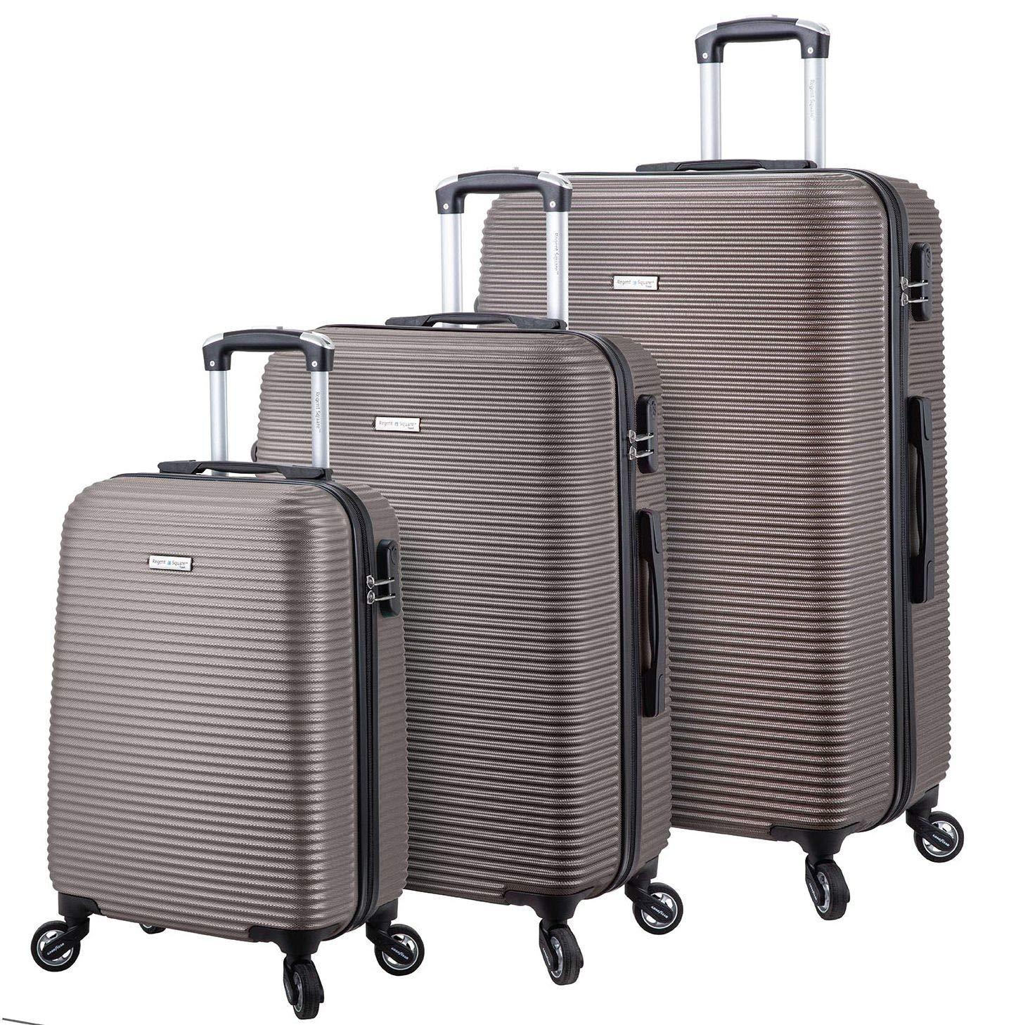 Regent Square Travel - Luggage Set Anti-Scratch Texture Hard Shell