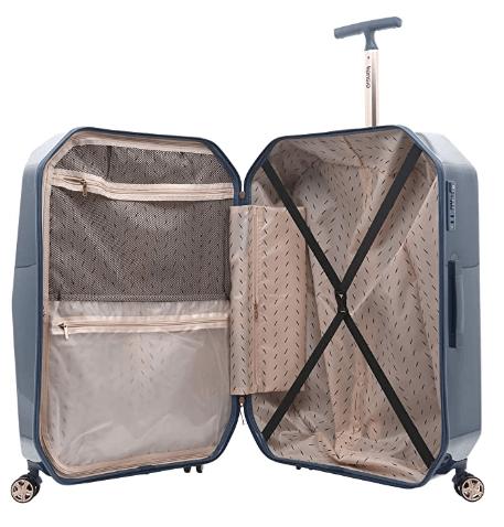 Kensie Charming Diamond Collection Women's Luggage Set